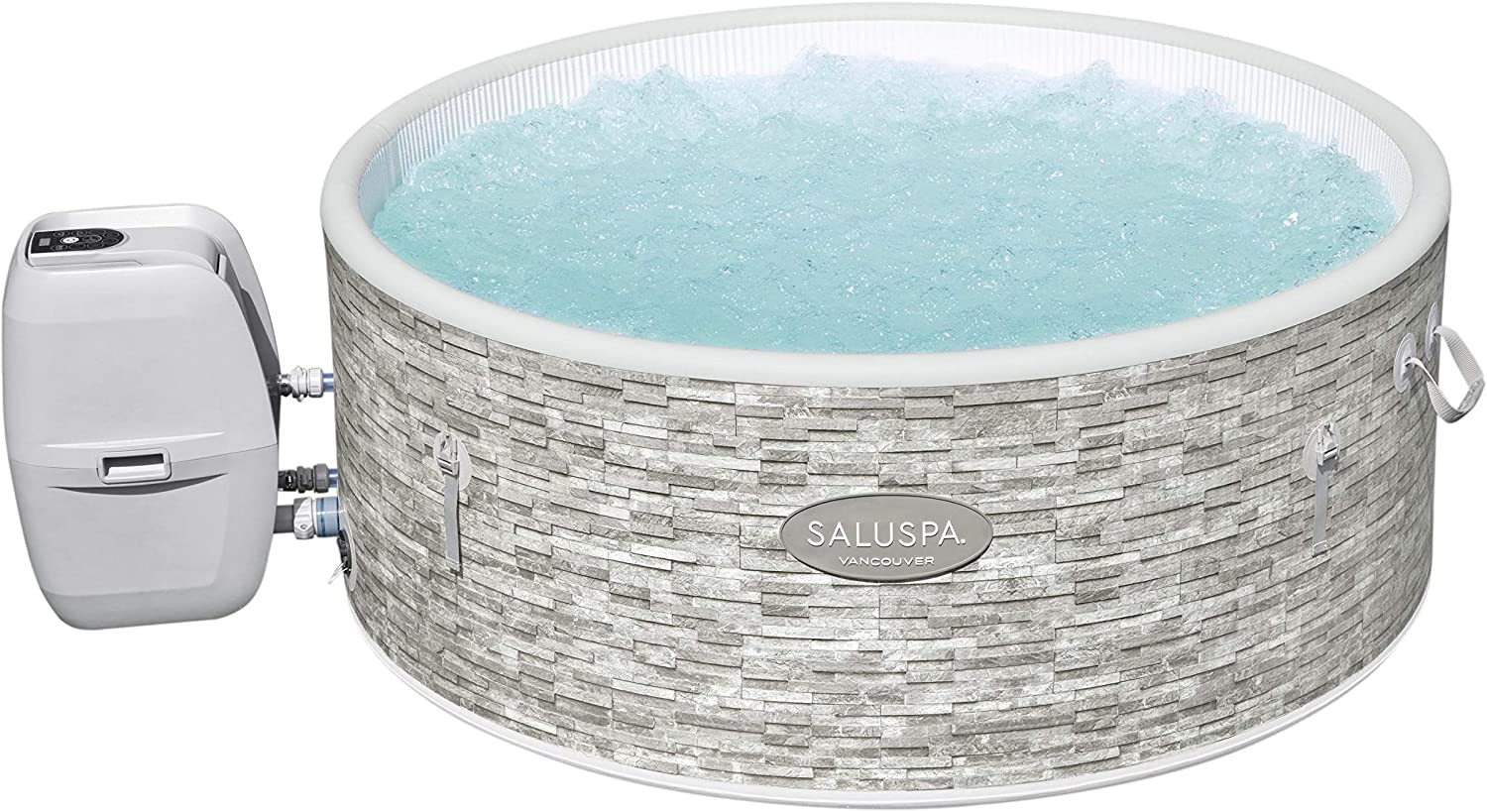 Inflatable Hot Tubs Are the Perfect Outdoor Spa Tub